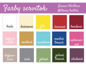 Farby-servítok-40x40-Netkaná-textília-SK